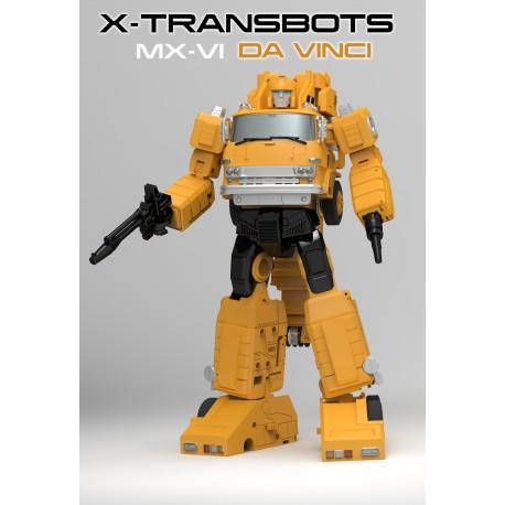 X-Transbots MX-06 Da Vinci