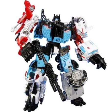 Transformers Unite Warriors UW-03 Defensor w/ Groove