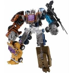 Transformers Unite Warriors UW-07 Bruticus w/ Blast-off Shuttle
