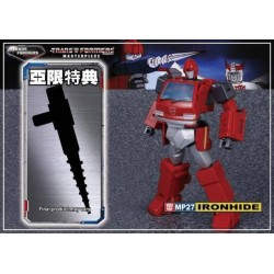 Transformers Asia Exclusive Masterpiece MP-27 Ironhide w/ premium diecast weapon