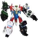 Transformers Unite Warriors UW-EX Lynx Master / Sky Reign