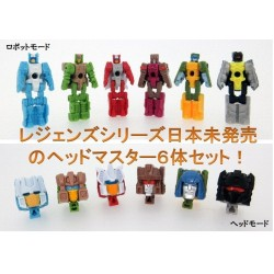 Transformers Legends LG-EX Head Master Set of 6