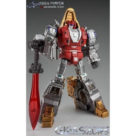 GigaPower Gigasaurs HQ-02 Grassor - Metallic Version