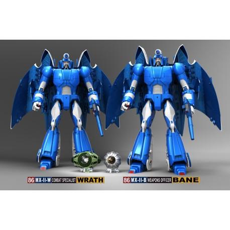 X-Transbots MX-II Swarm Team Set of 3