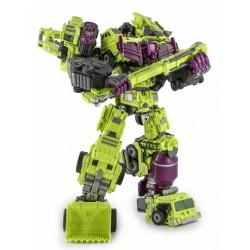 Generation Toy GT-01 Gravity Builder Set of 6 w/ GT-01G Tyrant & GT-01H Megasorry