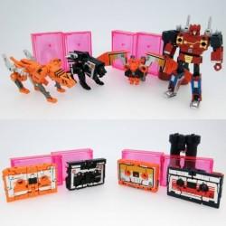 Transformers Masterpiece MP-15E & MP-16E CassetteBot Vs CassetteTron Set Takara Tomy Mall Exclusive