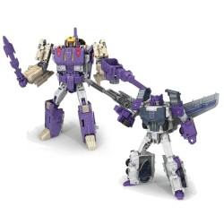 Transformers Titans Return Voyager Blitzwing & Octane Set of 2