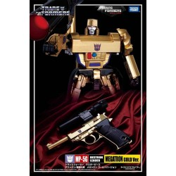 Transformers Asia Exclusive Masterpiece MP-05G Gold Version Megatron