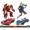 Transformers Takara Tomy Mall Exclusives Street Fighters II Ken vs. Chun-Li Set