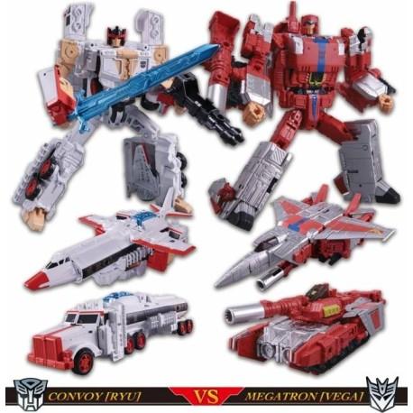 Transformers Takara Tomy Mall Exclusives Street Fighters II Ryu vs. Vega Set