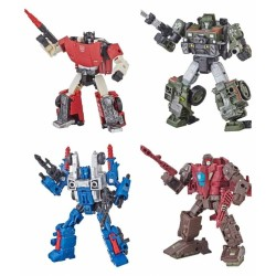 Transformers War for Cybertron Siege Deluxe Wave 1 Set of 4