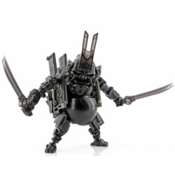 Toy Wolf W-01B Dirty Man Clear Black Limited Edition w/ bonus T-shirt