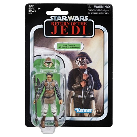 "Star Wars The Vintage Collection 3.75"" Return of the Jedi Lando Calrissian (Skiff Guard)"