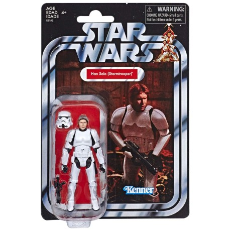 """Star Wars The Vintage Collection 3.75"""" Han Solo in Stormtrooper"""