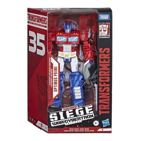 Transformers War for Cybertron Siege Voyager Classic Animation Optimus Prime