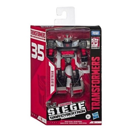 Transformers War for Cybertron Siege Deluxe Bluestreak