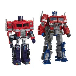 Transformers TakaraTomy Mall Exclusive 35th Anniversary Convoy and Optimus Prime Set of 2