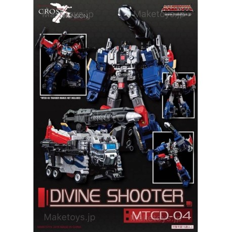MakeToys MTCD-04 Divine Shooter