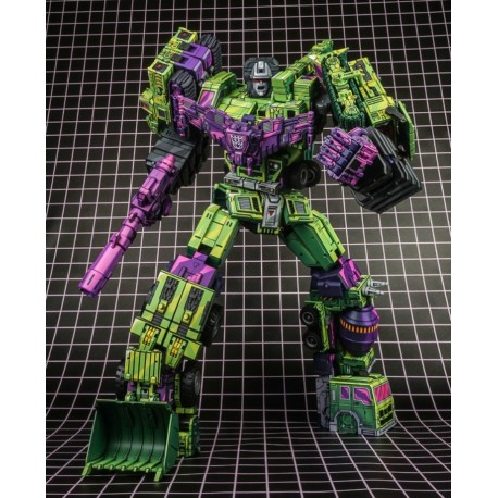 ToyWorld TW-C07A Cel Shading Green Constructor Set of 6 - Deluxe Edition