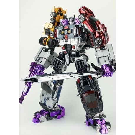 TransFormMission M-01 Havoc Set of 5 - Chrome Edition