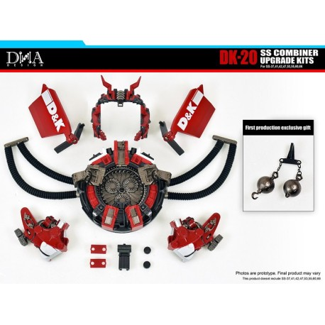 DNA Design DK-20 SS Combiner Upgrade Kit w/ First Production Bonus