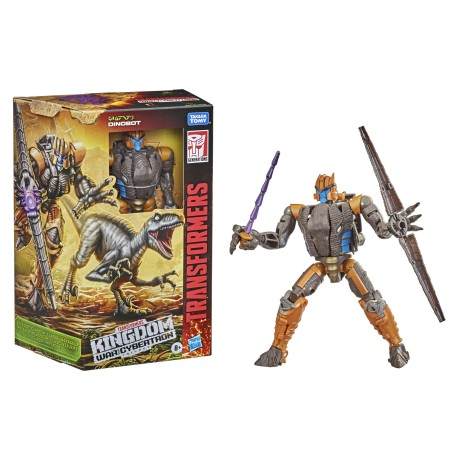 Transformers War for Cybertron Kingdom Voyager Dinobot