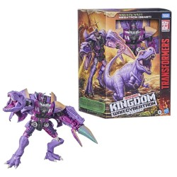 Transformers War for Cybertron Kingdom Leader Beast Wars TRex Megatron